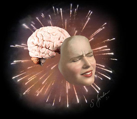 dr. sheldon jordan firework brain art 2020