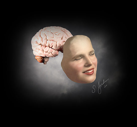 dr. sheldon jordan night sky brain art 2020