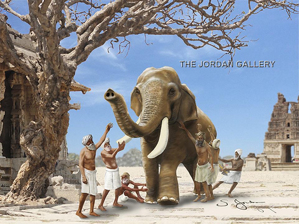 dr. sheldon jordan elephant art