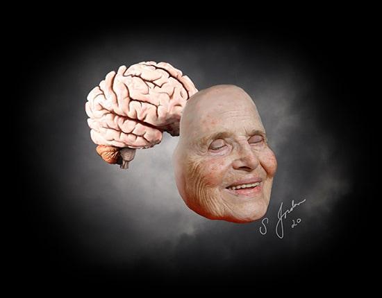 dr. sheldon jordan night sky brain art